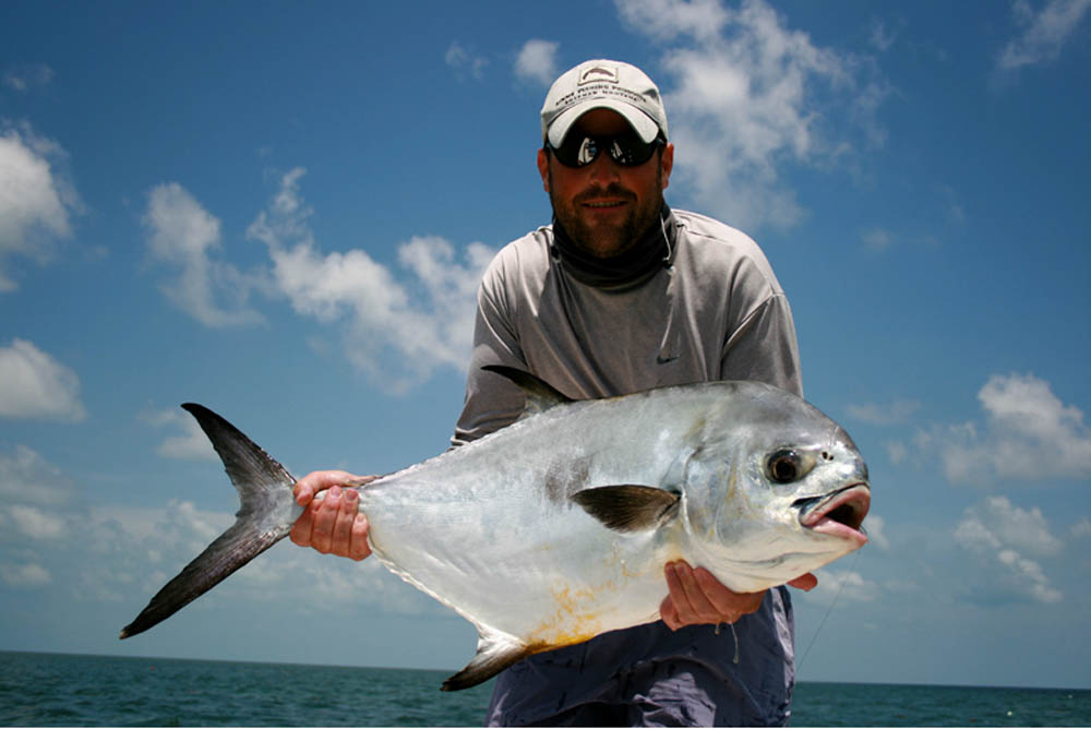 Permit Fishing in the Carribean