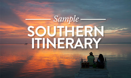 Southern Itineraries Belize Vacation