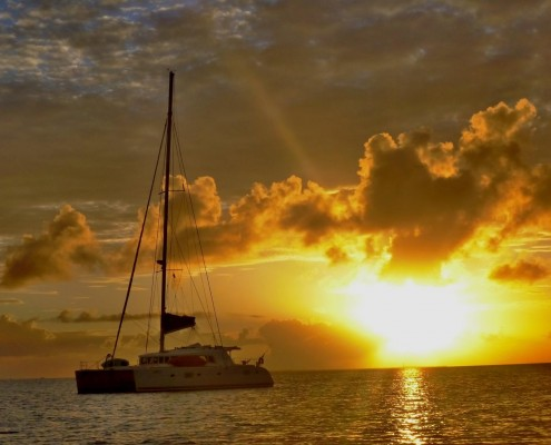 Sunset_Catamaran
