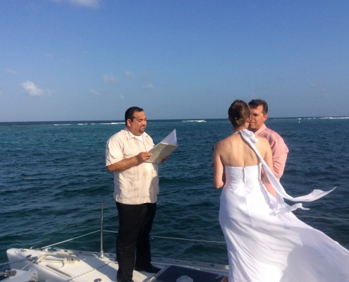 Weddings with Belize Sailing Vacations