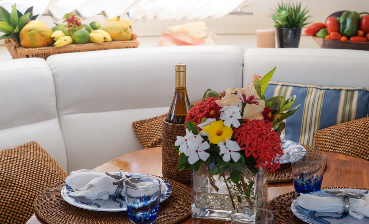 Aubisque catamaran fine dining