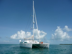 Aubisque luxury yacht catamaran charter boat