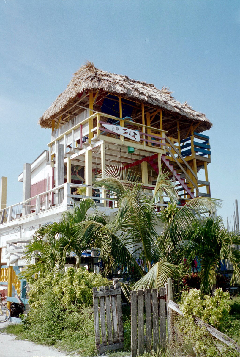 Beach Bar Caye Caulker