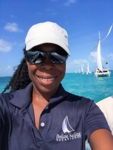 Ellen Nicholas Chef Belize Sailing Vacations