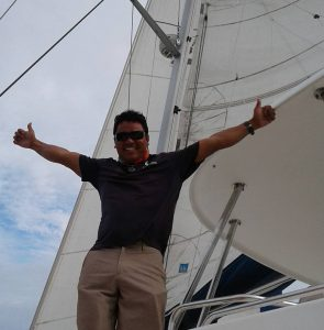 Ruben Trejos Captain Belize Sailing Vacations
